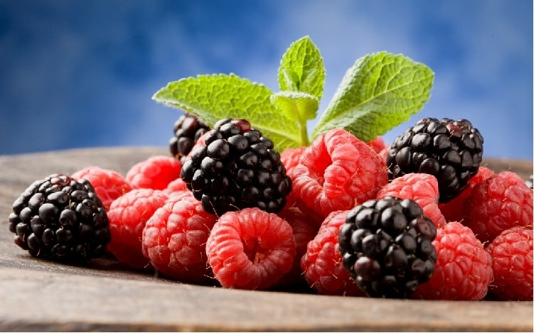 Raspberries Diet