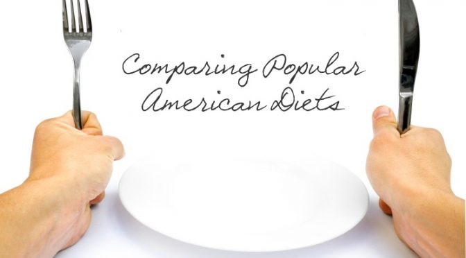 Comparing American Diets