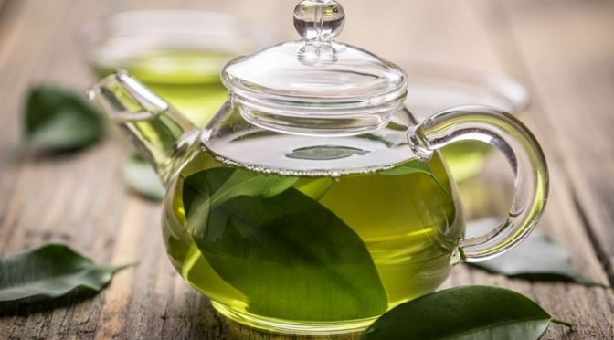 teapot green tea - FreeDieting