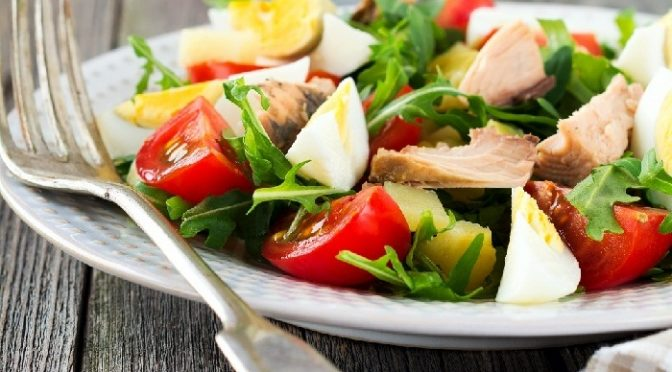 French Nicoise Salad with Tuna New