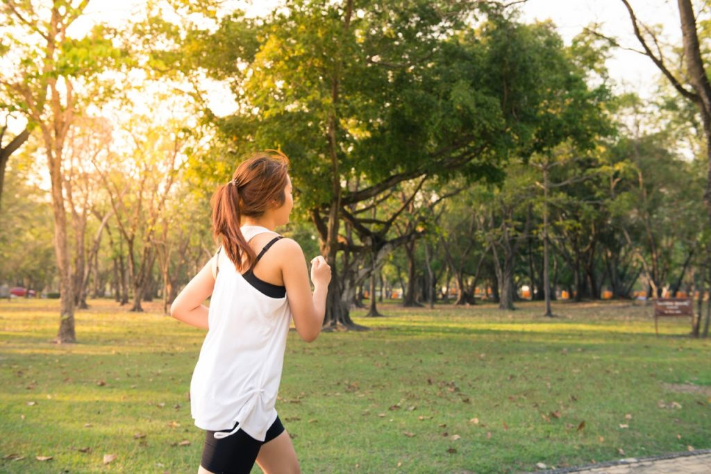 How much Run to lose weight
