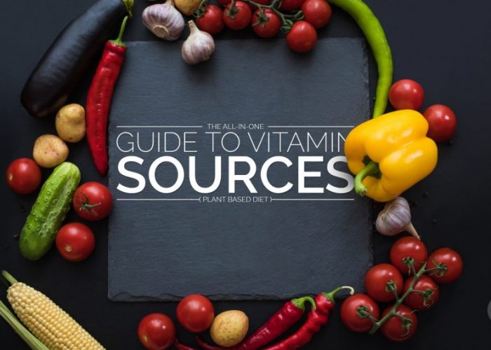 Vitamins And Their Natural Sources (Infographic)