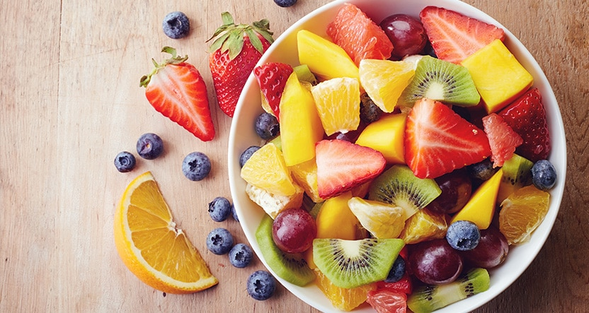 Diet friendly fruits