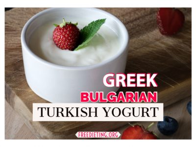 Greek, Bulgarian and Tukish Yogurt – This Is The Difference