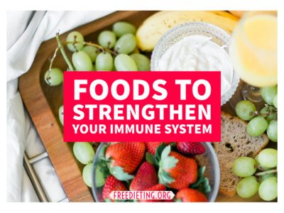 Foods to Strengthen Your Weak Immune System