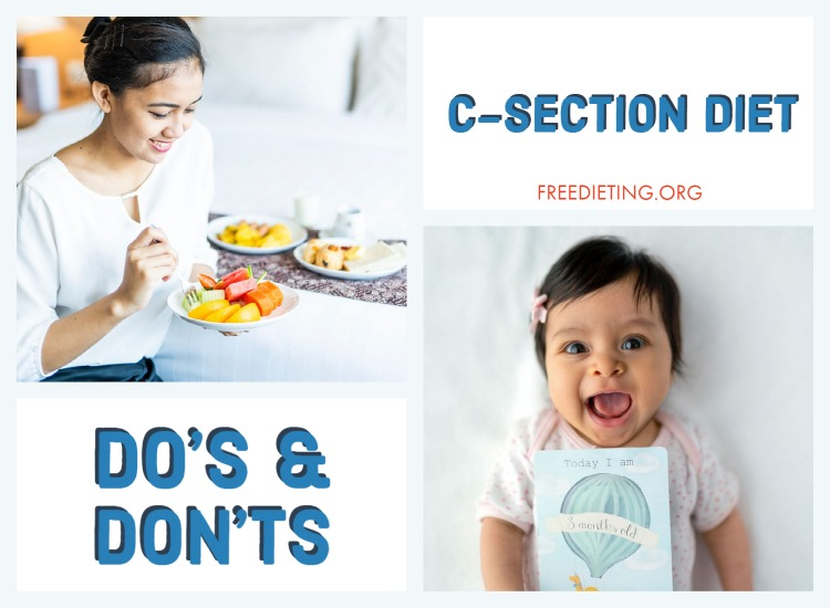 c-section cesarean diet
