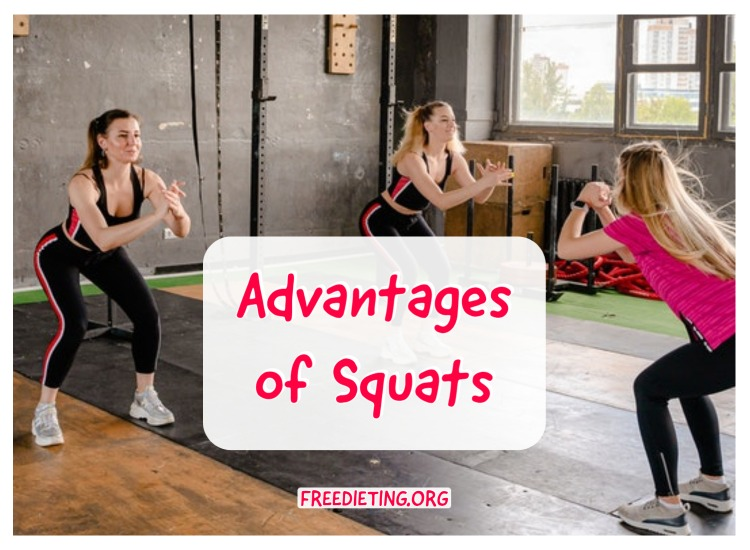Advantages of Squats Exercises