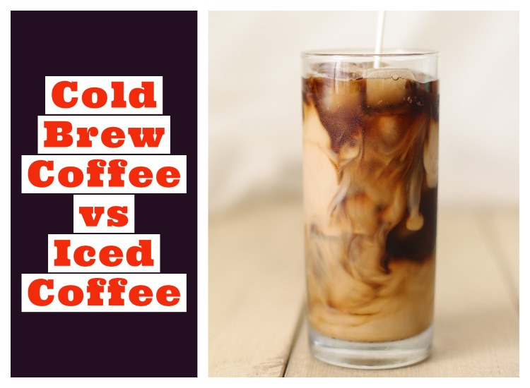 Ice Coffee and Cold Brewed coffee Difference